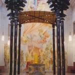 Baldachim Church Wuerzburg Germany